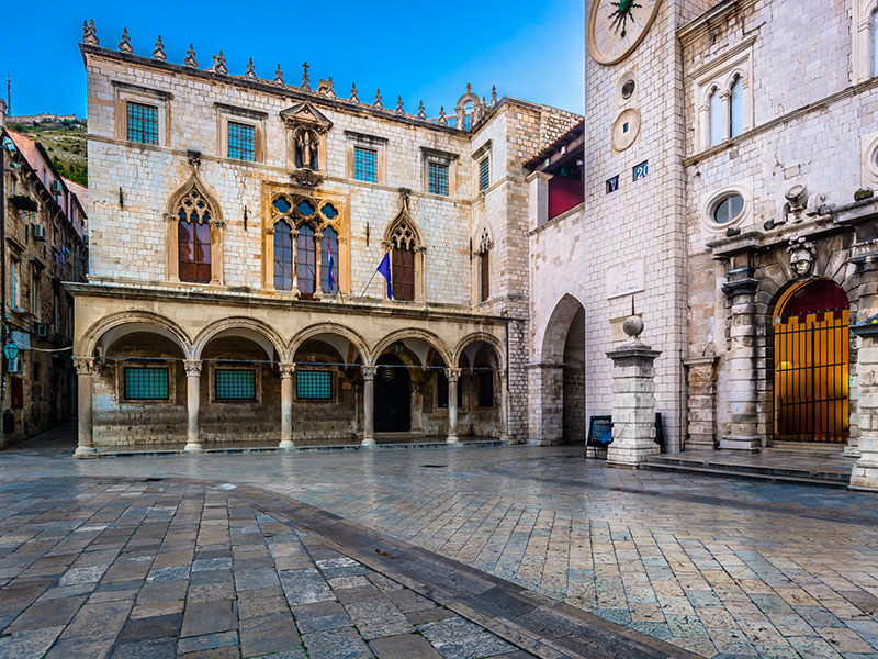 Historic Square Dubrovnik