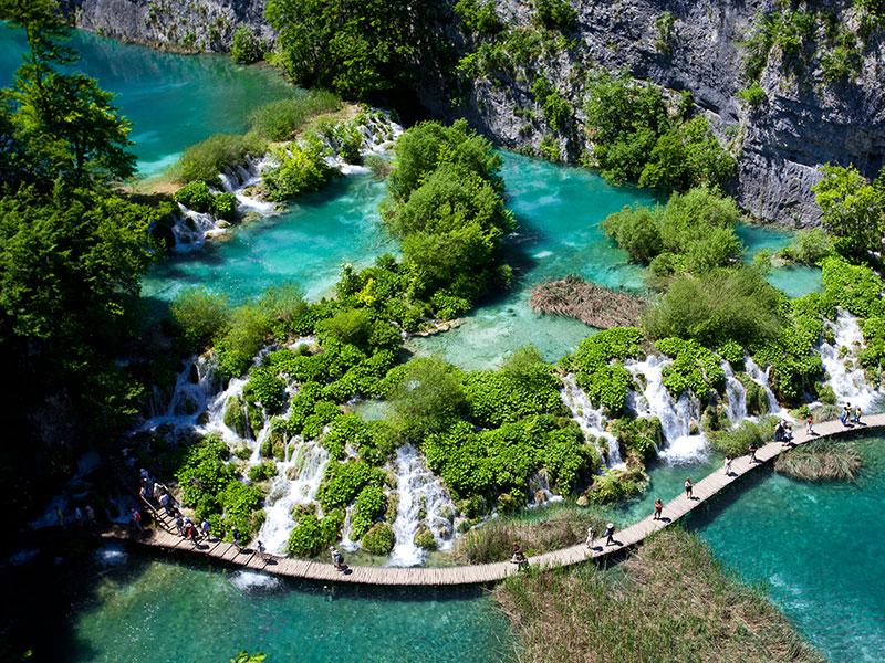 Plitvice Lakes<br>Central Croatia
