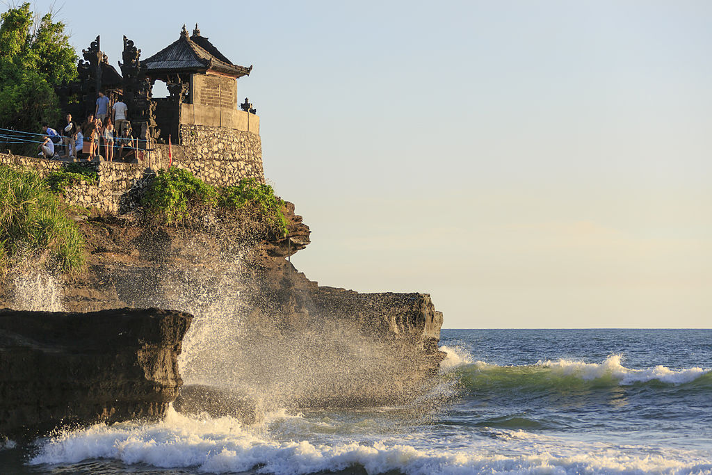 Close-up of Tanah Lot